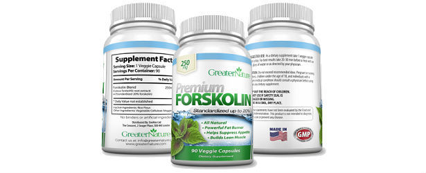 GreaterNature Premium Forskolin Review